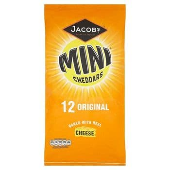 Jacobs Mini Cheddars 12X25g