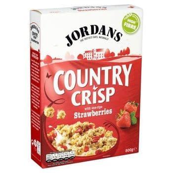Jordans Country Crisp & Strawberry 500G