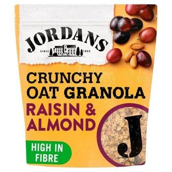 Jordans Crunchy Granola Raisin Almond 750G