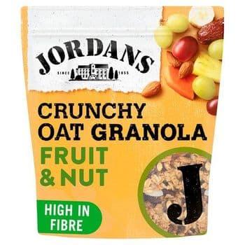 Jordans Crunchy Oat Granola Fruit & Nut 750G