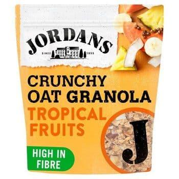 Jordans Crunchy Oat Granola Tropical Fruit 750G