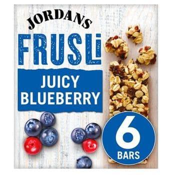 Jordans Frusli Blueberry Burst 6X30g