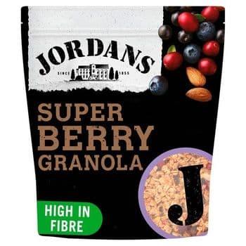 Jordans Super Granola Berry 550G