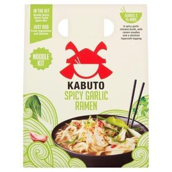 Kabuto Spicy Garlic Ramen Noodle Meal Kit 150G
