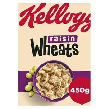 Kellog's Raisin Wheats 450G