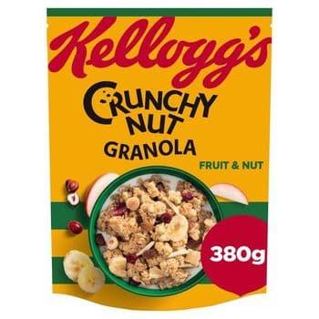 Kellogg Crunchy Nut Caramelised Granola 380G