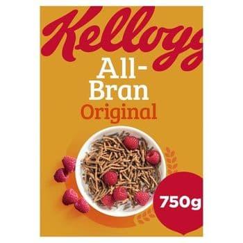 Kellogg's All-Bran Cereal 750G