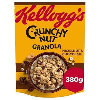 Kellogg's Crunchy Nut Oat Granola Chocolate 380G3.2