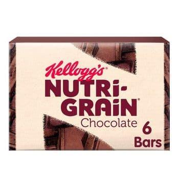 Kellogg's Nutri-Grain Chocolate Chip 6X45g