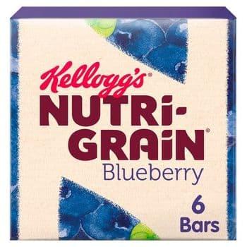 Kellogg's Nutrigrain Blueberry 6X37g