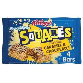 Kellogg's Rice Krispie Squares Caramel 4 X 36G