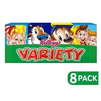 Kellogg's Variety Cereal 8 Pack 191G