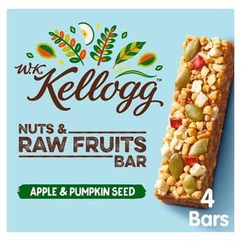 Kellogg's Wkk Apple&Pumpkin Bar 4X30g