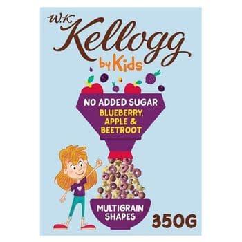 Kellogg's Wkk Kids Blueberry & Apple 350G