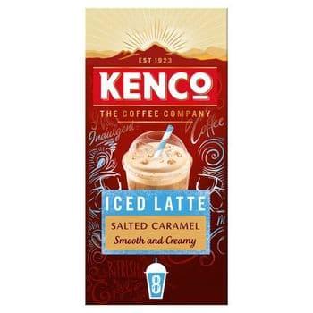 Kenco Barista Edition Iced Latte Salted Caramel 8X21.3G