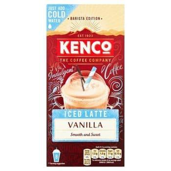 Kenco Barista Edition Iced Latte Vanilla 8X21.3G