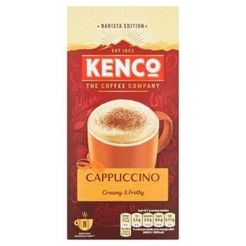 Kenco Cappuccino Coffee 8 Sachets 149G