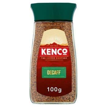 Kenco Decaffeinated Instant Coffee 100G
