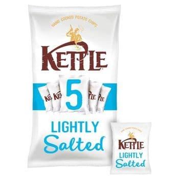 Kettle Lightly Salted Crisps 5X30g