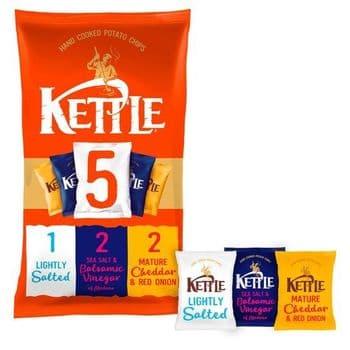 Kettle Variety Crisps 5 Pack 5 Pack X 30G