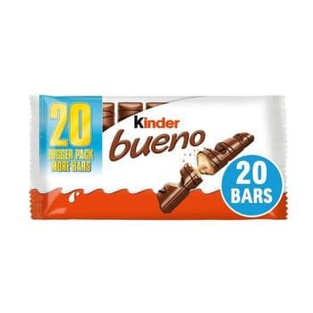 Kinder Bueno Chocolate Wafer Bars 10 X 43G