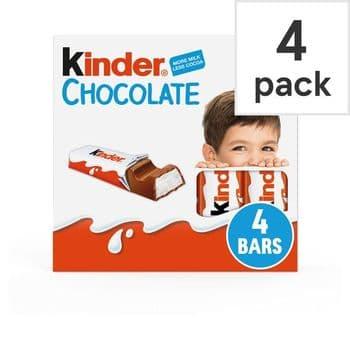 Kinder Chocolate 4 Pack 50G