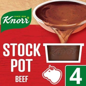 Knorr Beef Stock Pot 4 X 28G