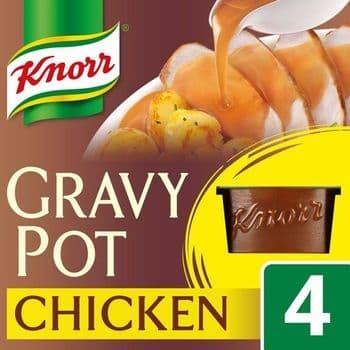 Knorr Chicken Gravy Pot 4 X 28G