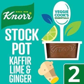 Knorr Stock Pot Kaffir Lime & Ginger 2 X 26G