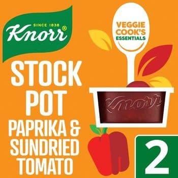 Knorr Stock Pot Paprika & Sun Dried Tomato 2 X 26G