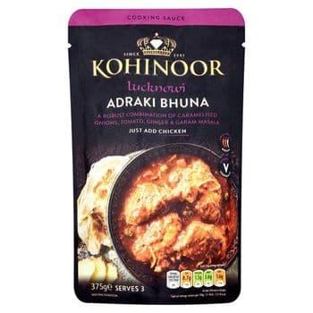 Kohinoor Lucknowi Adraki Bhuna Sauce 375G