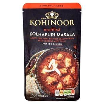 Kohinoor Mumbai Kolhapuri Masala Cooking Sauce 375G