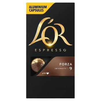 L'Or Espresso Forza 10 Capsules 52G