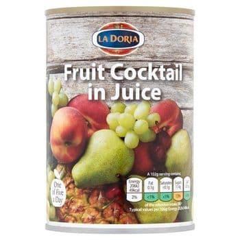 La Doria Fruit Cocktail In Juice 411G