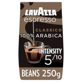 Lavazza Caffe Espresso Coffee Beans 250G