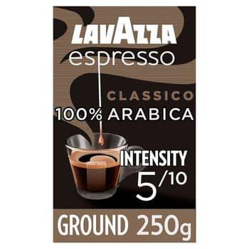 Lavazza Caffe Espresso Ground Coffee 250G