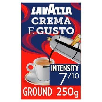 Lavazza Crema E Gusto Coffee 250G