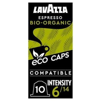 Lavazza Eco Caps Espresso Biological Organic 10 Capsules 53G