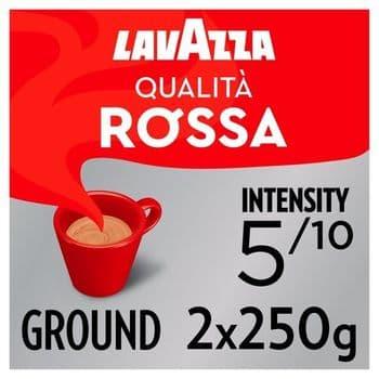 Lavazza Qualita Rossa Ground Coffee 2 X 250G