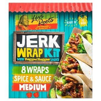 Levi Roots Jerk Wrap Kit Reggae Reggae Sauce 440G