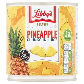 Libby's Pineapple Chunks In Juice 425G