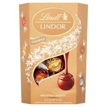 Lindt Lindor Assorted Chocolate Truffles 200G