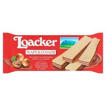 Loacker Napolitaner Wafer 90G