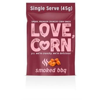 Love,Corn Bbq Roasted Corn Snack 45G