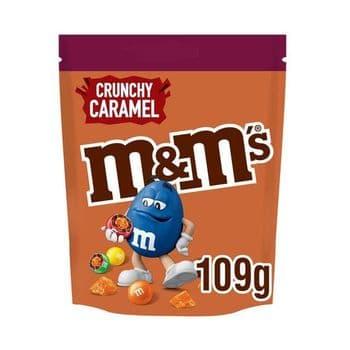 M&M's Chocolate Crunchy Caramel Pouch 109G