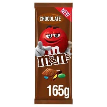 M&M's Milk Chocolate Block 165G