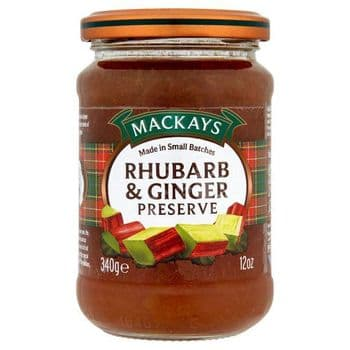 Mackays Rhubarb & Ginger Preserve 340G