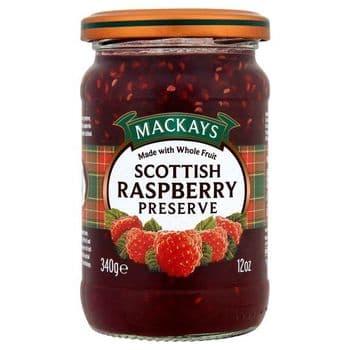 Mackays Scottish Raspberry Preserve 340G