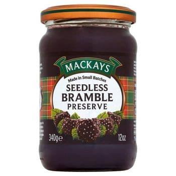 Mackays Seedless Bramble Preserve 340G