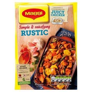 Maggi Juicy Rustic Chicken Seasoning & Cooking Bag 30G